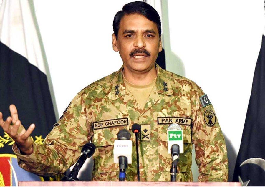 حمایت ارتش پاکستان از دولت عمران خان